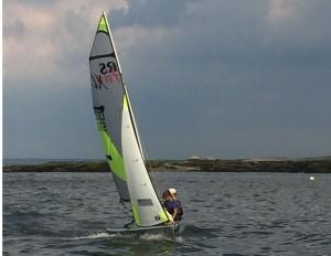Feva sailing at 2016 North American Champs - Indian Harbor YC
